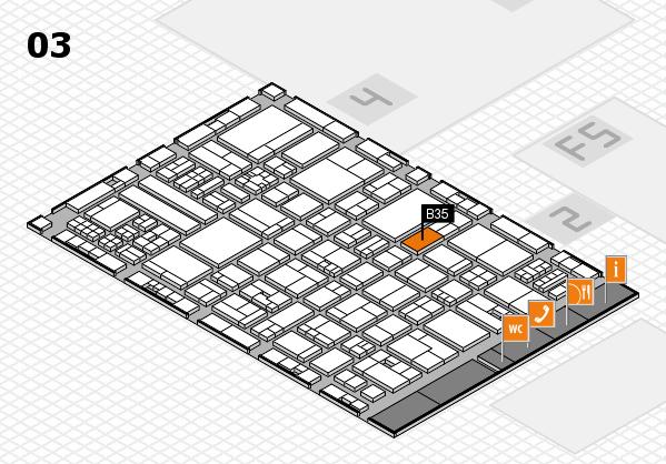 drupa 2016 hall map (Hall 3): stand B35