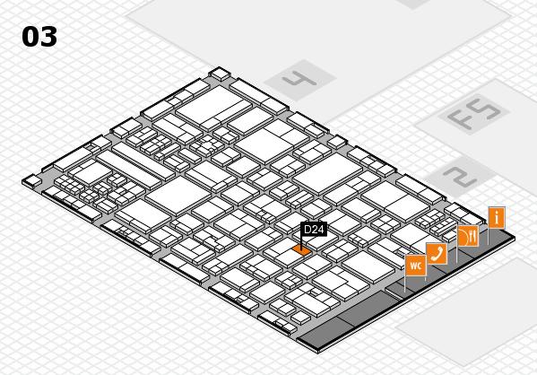 drupa 2016 hall map (Hall 3): stand D24
