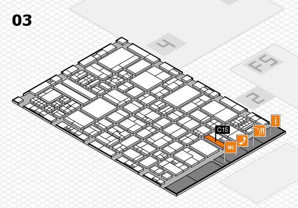 drupa 2016 hall map (Hall 3): stand C15