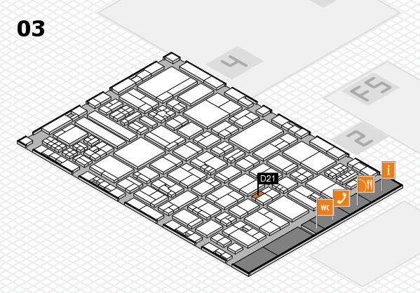 drupa 2016 hall map (Hall 3): stand D21
