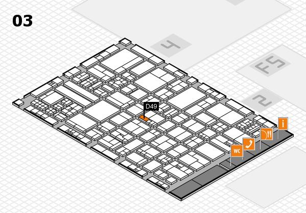 drupa 2016 hall map (Hall 3): stand D49