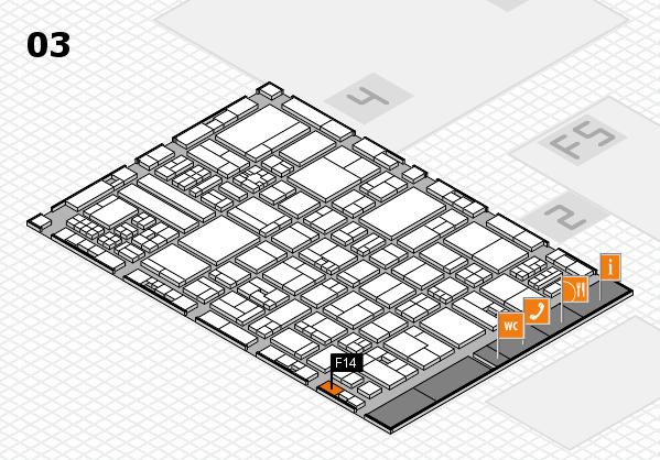 drupa 2016 hall map (Hall 3): stand F14