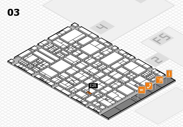 drupa 2016 hall map (Hall 3): stand E28