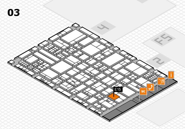 drupa 2016 hall map (Hall 3): stand E15