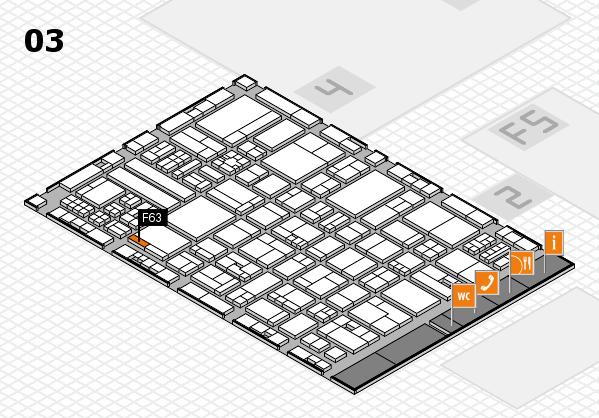 drupa 2016 hall map (Hall 3): stand F63