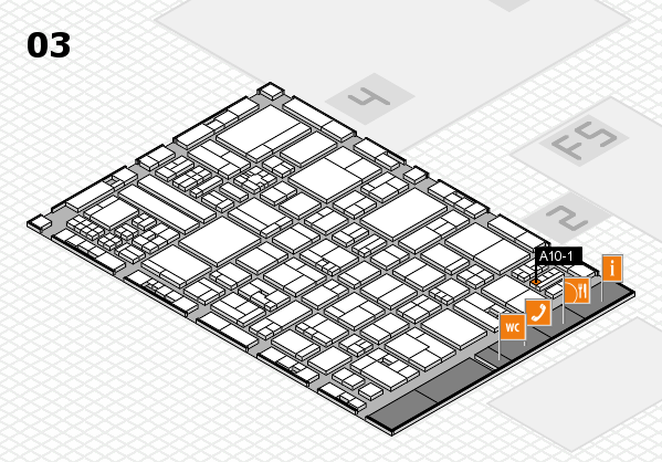 drupa 2016 hall map (Hall 3): stand A10-1