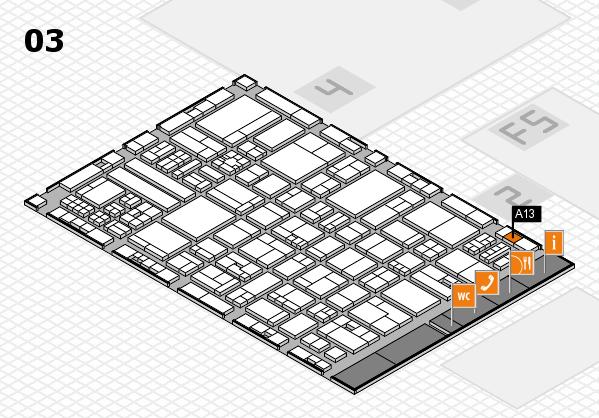 drupa 2016 hall map (Hall 3): stand A13