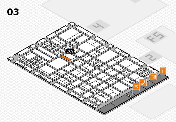 drupa 2016 hall map (Hall 3): stand D69