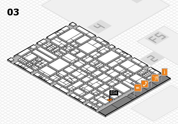 drupa 2016 hall map (Hall 3): stand E04