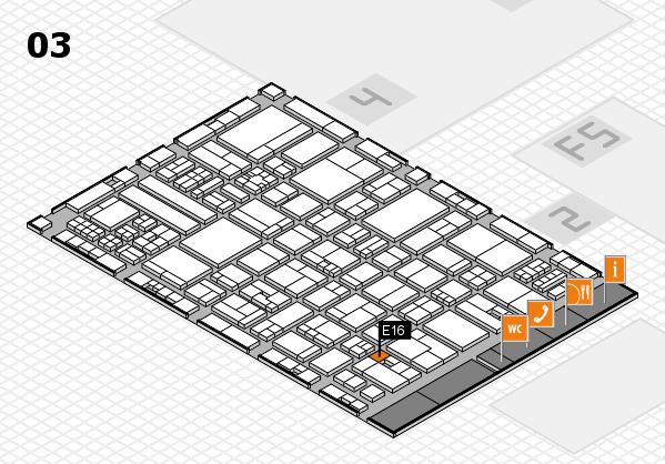 drupa 2016 hall map (Hall 3): stand E16