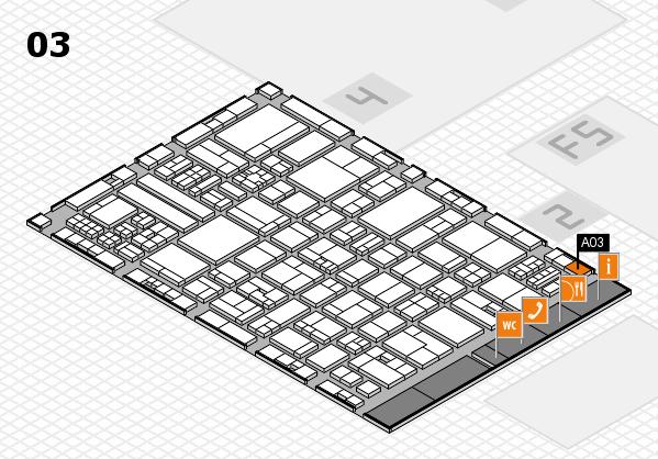 drupa 2016 hall map (Hall 3): stand A03