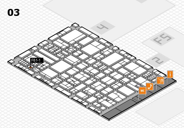 drupa 2016 hall map (Hall 3): stand F81-1