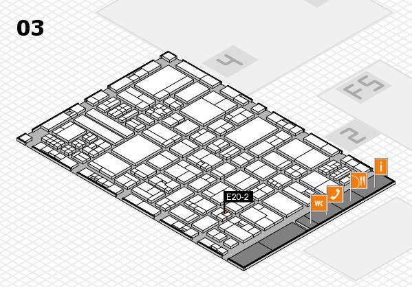 drupa 2016 Hallenplan (Halle 3): Stand E20-2