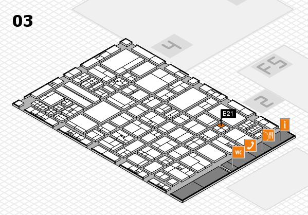 drupa 2016 hall map (Hall 3): stand B21