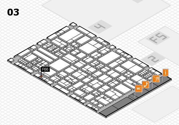 drupa 2016 hall map (Hall 3): stand F66