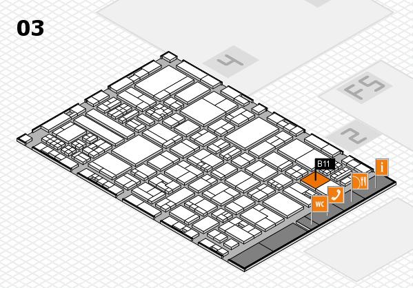 drupa 2016 hall map (Hall 3): stand B11
