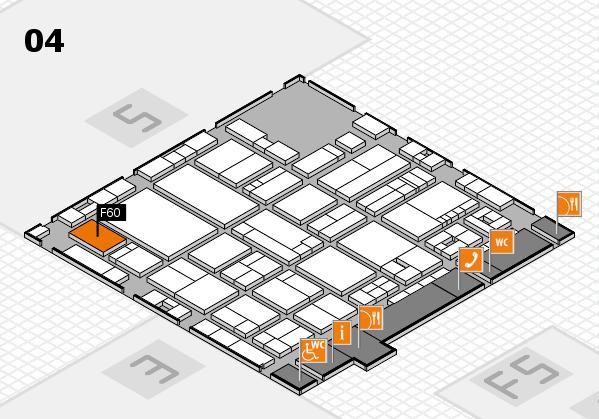 drupa 2016 Hallenplan (Halle 4): Stand F60