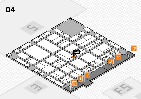drupa 2016 hall map (Hall 4): stand C25