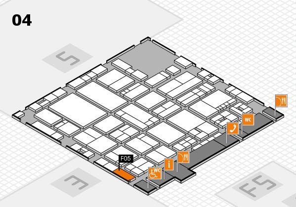 drupa 2016 Hallenplan (Halle 4): Stand F05