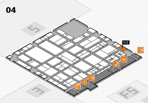 drupa 2016 hall map (Hall 4): stand A12