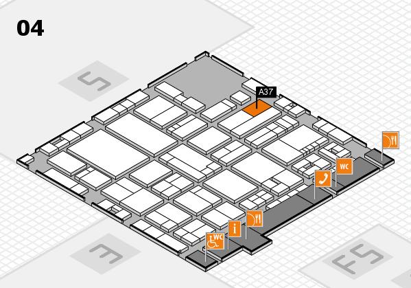 drupa 2016 hall map (Hall 4): stand A37