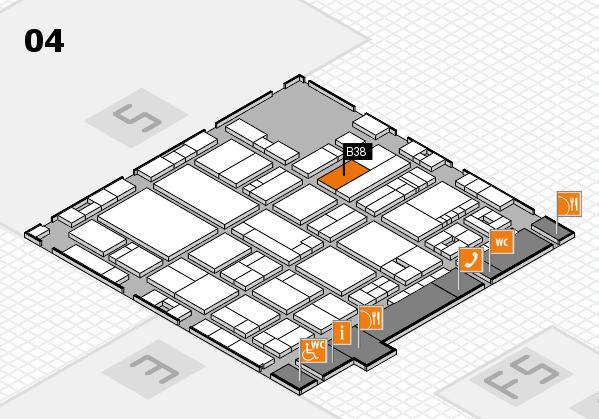 drupa 2016 hall map (Hall 4): stand B38