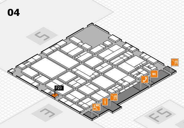 drupa 2016 hall map (Hall 4): stand F23
