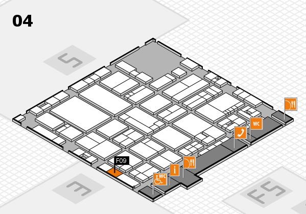 drupa 2016 hall map (Hall 4): stand F09
