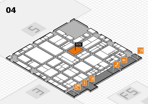drupa 2016 hall map (Hall 4): stand B39