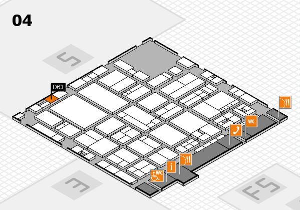 drupa 2016 hall map (Hall 4): stand D63