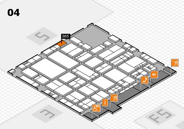drupa 2016 hall map (Hall 4): stand B65