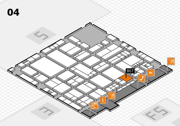 drupa 2016 hall map (Hall 4): stand B07