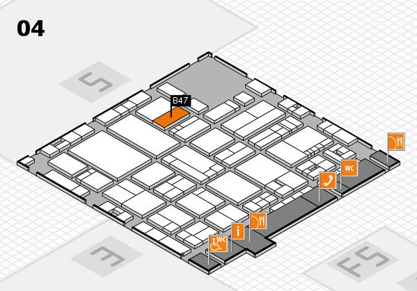 drupa 2016 hall map (Hall 4): stand B47