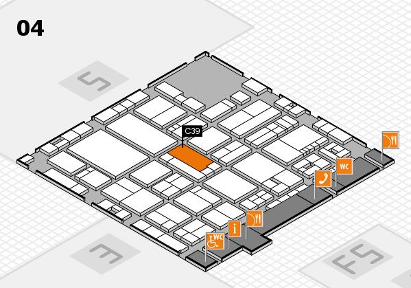 drupa 2016 hall map (Hall 4): stand C39