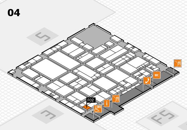 drupa 2016 hall map (Hall 4): stand F02