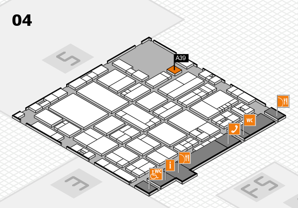 drupa 2016 hall map (Hall 4): stand A39