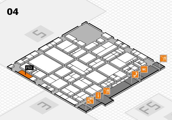 drupa 2016 Hallenplan (Halle 4): Stand F53