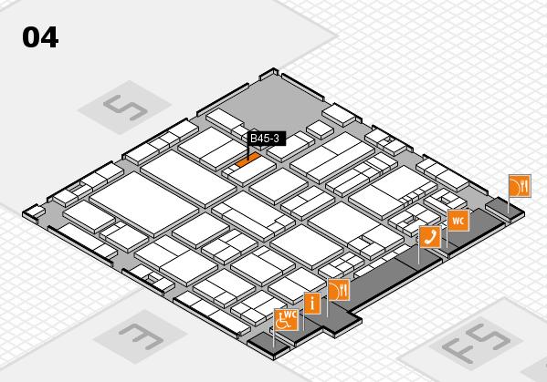 drupa 2016 hall map (Hall 4): stand B45-3