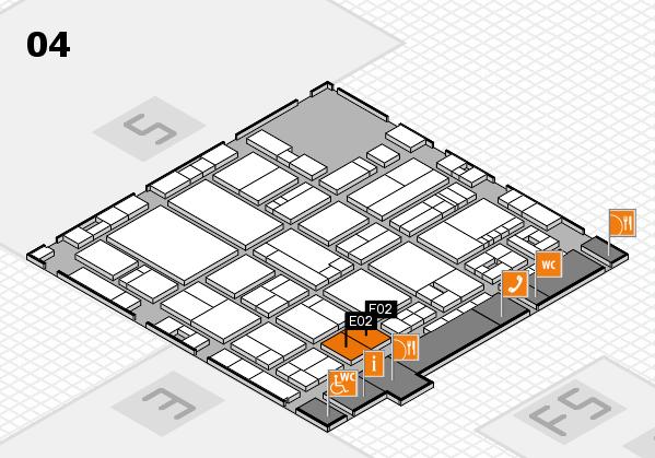 drupa 2016 hall map (Hall 4): stand E02