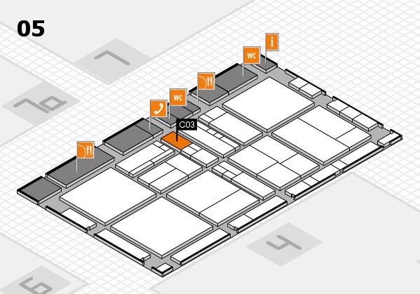 drupa 2016 hall map (Hall 5): stand C03