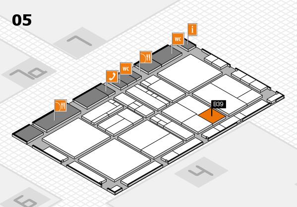 drupa 2016 hall map (Hall 5): stand B39