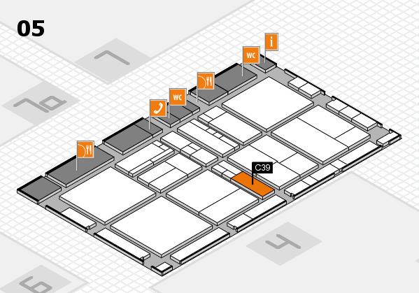 drupa 2016 hall map (Hall 5): stand C39
