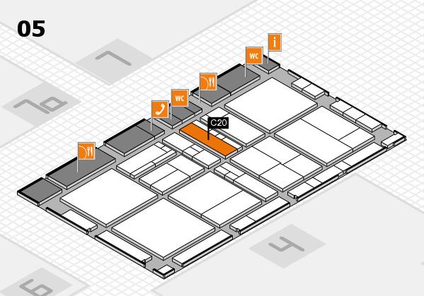 drupa 2016 Hallenplan (Halle 5): Stand C20