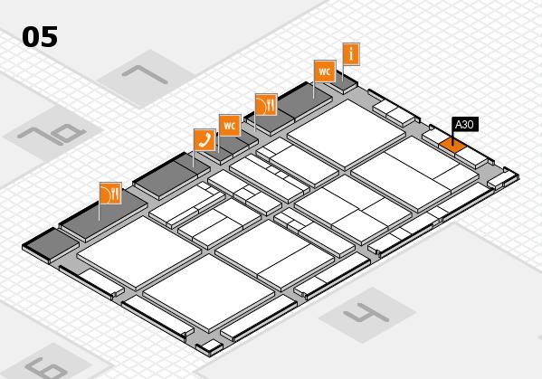 drupa 2016 hall map (Hall 5): stand A30