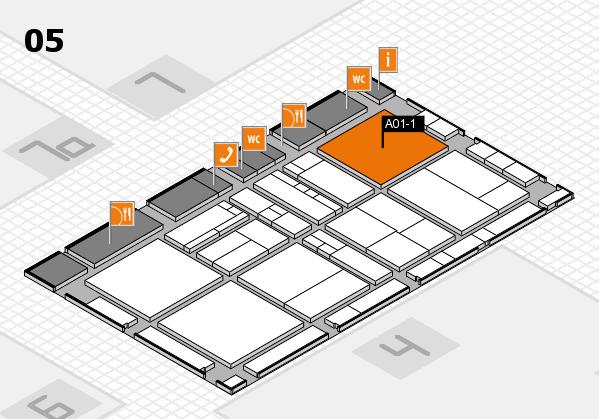 drupa 2016 hall map (Hall 5): stand A01-1