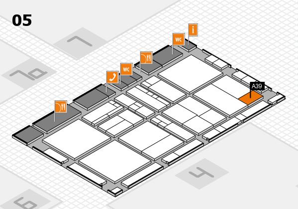 drupa 2016 hall map (Hall 5): stand A39