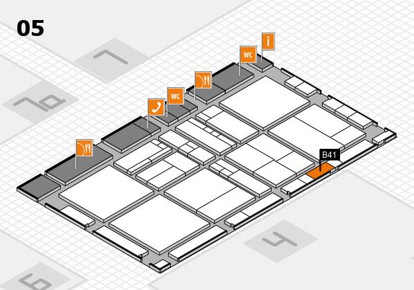 drupa 2016 Hallenplan (Halle 5): Stand B41