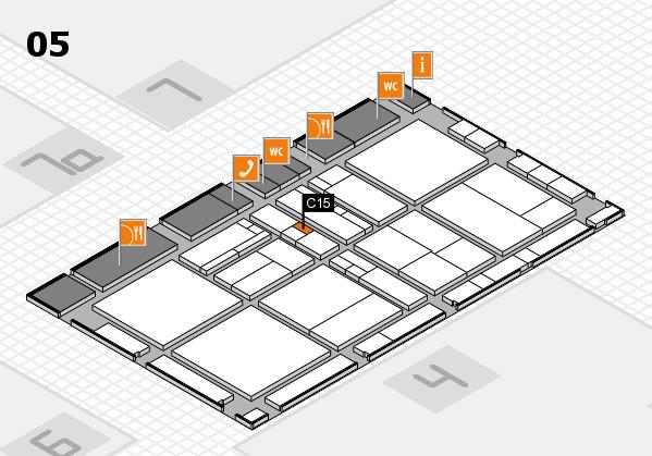 drupa 2016 Hallenplan (Halle 5): Stand C15
