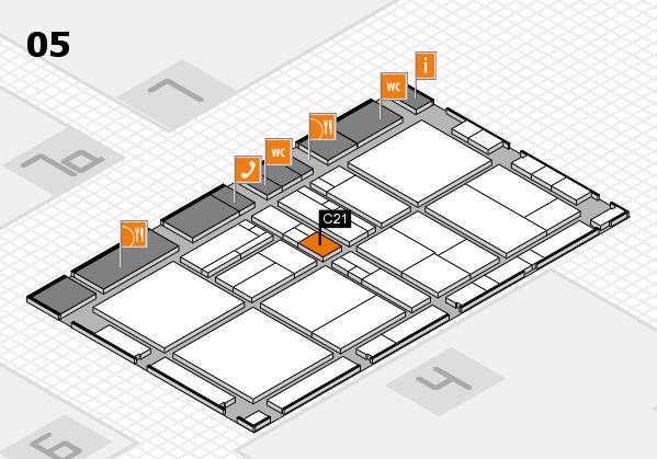 drupa 2016 Hallenplan (Halle 5): Stand C21