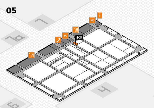 drupa 2016 hall map (Hall 5): stand B05